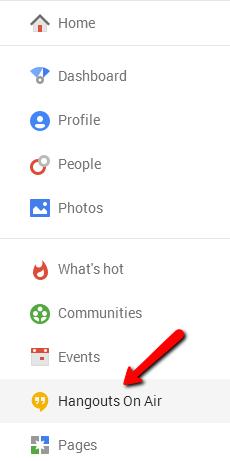 Google Hangout 4
